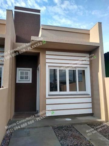 Excelentes Casas 2 Dormitórios 2 Vaga Gravataí Bom Sucesso Documentação Gratuita!! - Foto 14