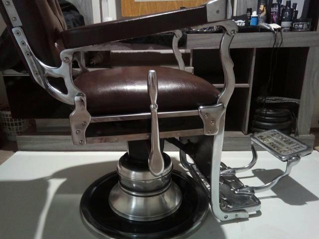 Cadeira de barbeiro Ferrante - Foto 4