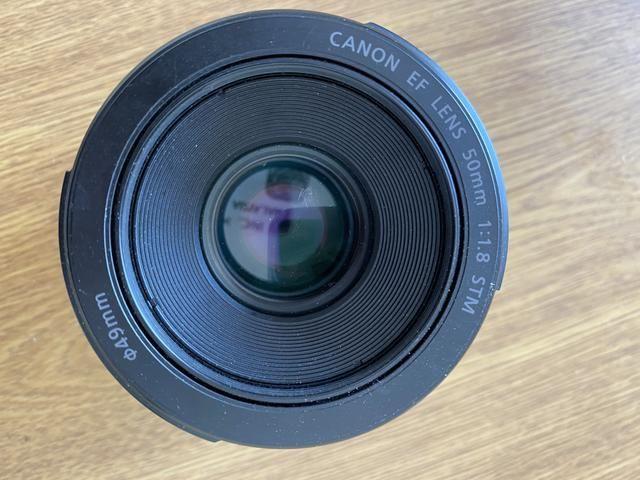 Vendo lente 50mm da Canon Foz do Iguaçu - Foto 2