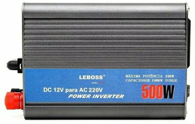 Inversor Veicular 500w 12v 110v Leboss