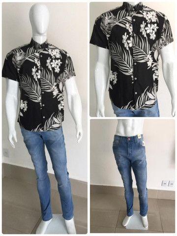 Calças Jeans Tamanho 44 - Foto 5