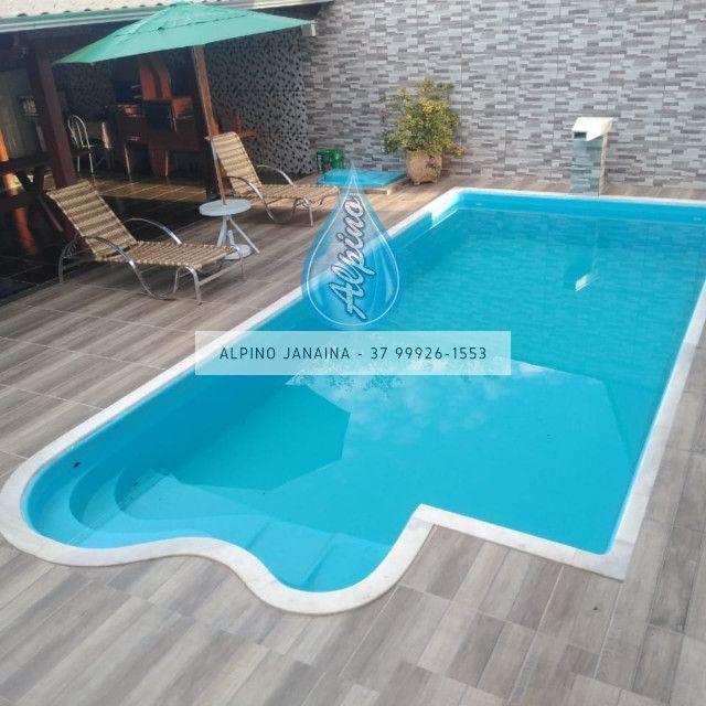 JA Piscina direto da fábrica - piscina de fibra 7 metros !! - Foto 2