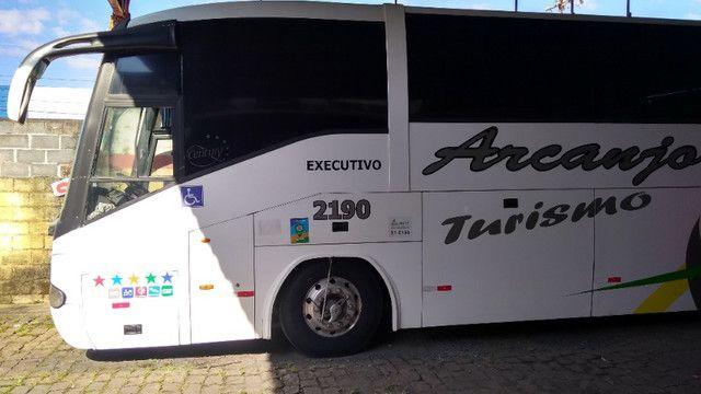 Vendo Ônibus irizar 2000/2000 46 lugares skania 124 ar condicionado executivo - Foto 2