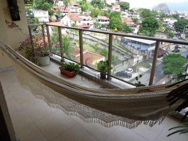 Cod: FRCO30031 - Cobertura 164 m², 3 quartos, 1 suíte, Freedom - Freguesia - RJ