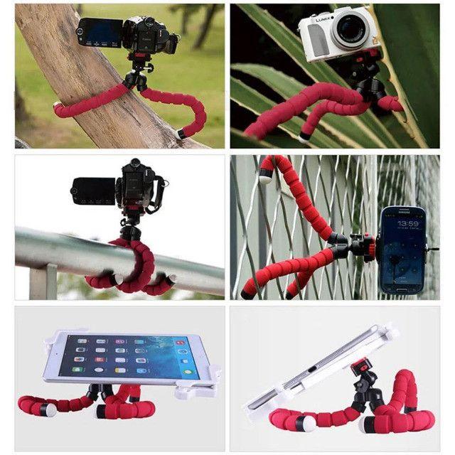 Novo Suporte Smartphones Profissional iphone ios xiaomi android Flexível - Foto 4