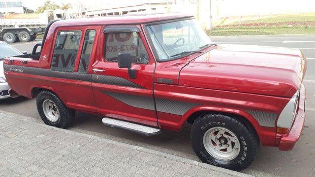 Ford/f1000/1983/ não faz financiamento - Foto 2