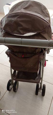 Kit Carrinho Bebê Conforto Galzerano - Foto 3