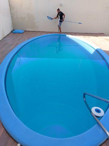 Alugo casa com piscina, excelente localização, 800 mts da praia Atalaia - Foto 13