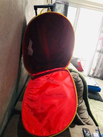 Mala escolar rodinha importada homem aranhA - Foto 2