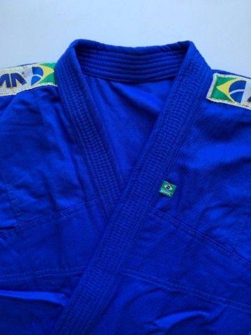 Kimono de Jiu-Jitsu Infantil trançado - Foto 4