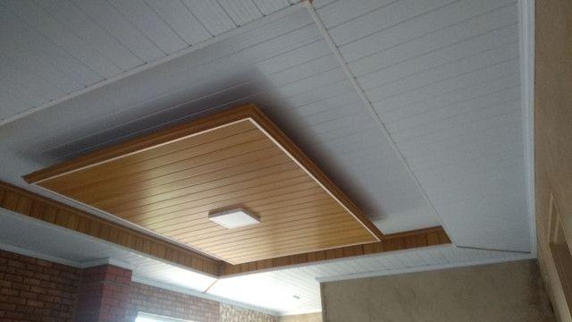 Forro PVC com detalhes tipo sanca de gesso * - Foto 3