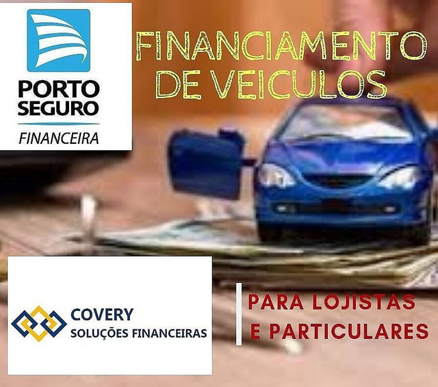 Financiamentos e Refinanciamentos de Veículos para lojistas e Particulares
