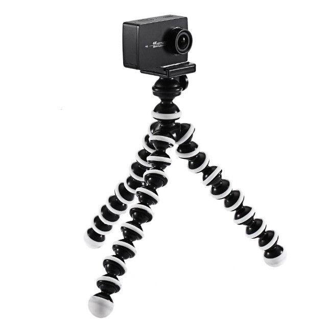 Tripé Para Câmera e Celular Octupus - Foto 3