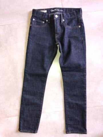 Vendo 2 calças jeans Nova Infantil - Gap e Tommy - Foto 5