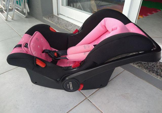 Bebê conforto cosco Nexus rosa coroa - Foto 5