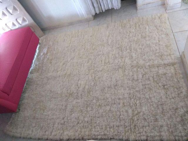 Tapete Lã de carneiro (Legítimo lã de carneiro) - Foto 4