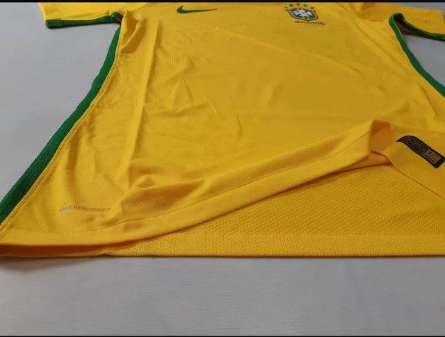 Camisa Seleção Brasileira 17/18 VERSÃO JOGADOR' Nova com Etiqueta. - Foto 3