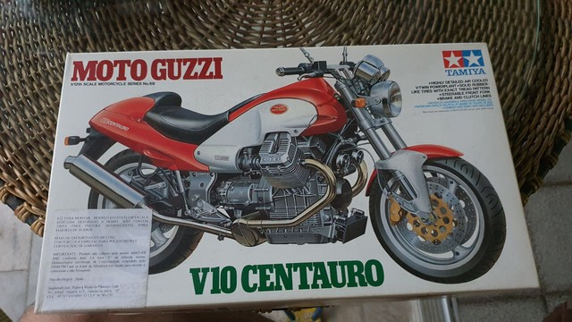 Kits modelismo plastimodelismo Moto Tamiya Tanque Revell  - Foto 5