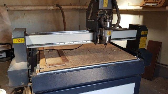 Máquina de corte router CNC - Foto 3
