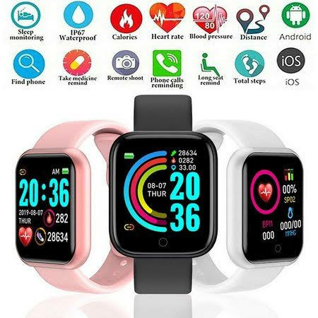 Smartwatch D20 ZAP 81 9- *