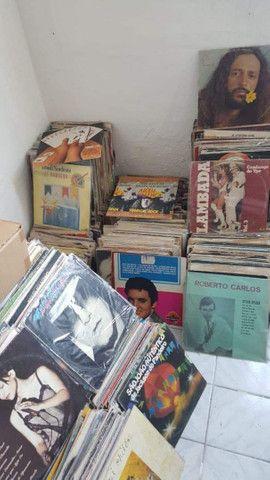 Vendo Lote de 2000 Discos Vinil LP bom estado de conservação