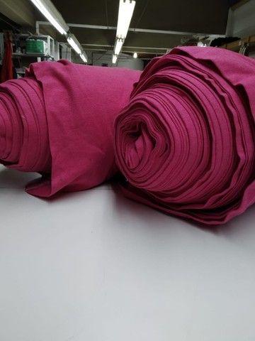 Malha Piqué ecopet  rosa pink - Foto 2
