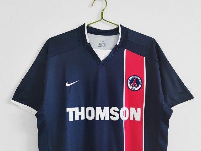 Camisa Paris Saint Germain Frete Grátis Retrô Ronaldinho Gaucho - Foto 3