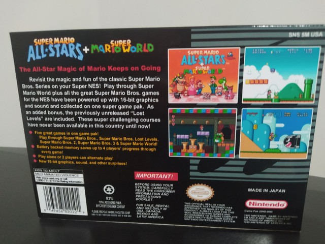 Super Mario All-Stars + Mario World - Foto 2