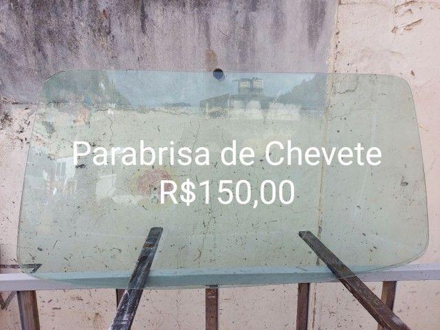 Parabrisa de Chevete R$150,00 em Santa Rosa Niteroi