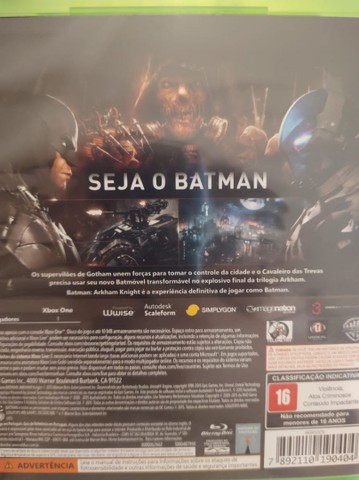 Jogo Xbox One - Batman Arkham Knight - Foto 3