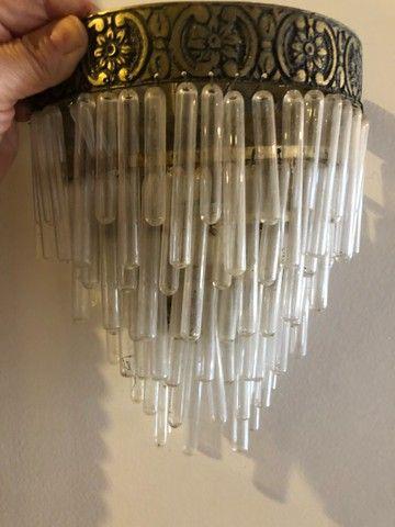 Luminária ou lustre de parede!