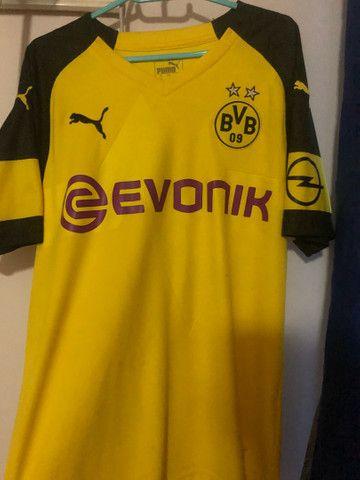 Camisas de times europeus e brasileiros futebol - Foto 2