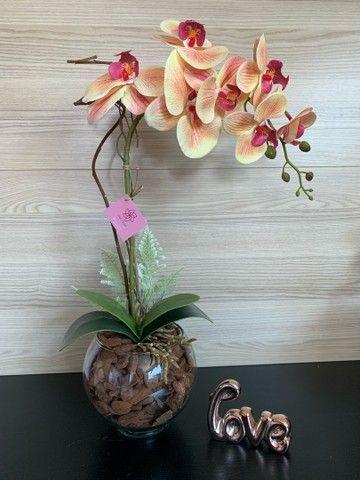 Vendo arranjos de orquídea permanente 75,00 a vista  - Foto 3
