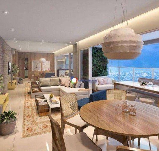 Apartamento com 3 dormitórios à venda, 125 m² por R$ 910.000,00 - Setor Marista - Goiânia/ - Foto 9
