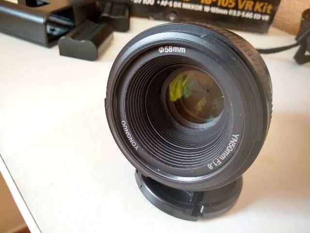 Camera Nikon D7100 + 18-105mm + 50mm - Foto 5