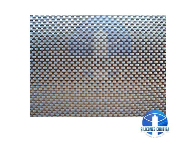 Tecido de Fibra de Vidro 330g/m² (por metro) 1,3m de largura.