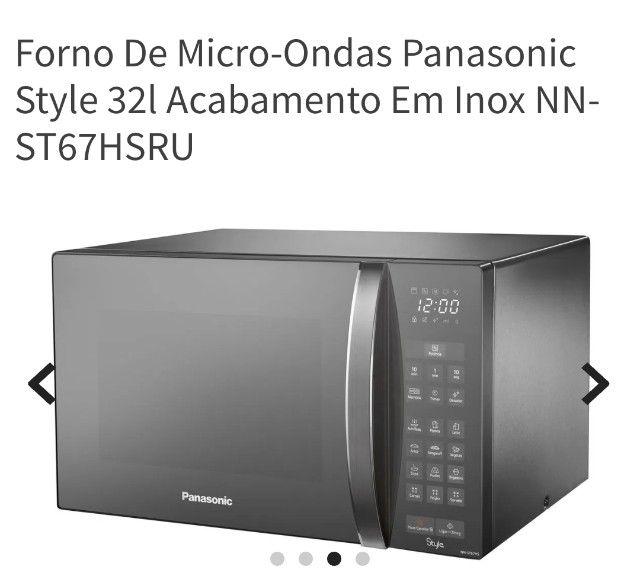 Microondas Panasonic style usado