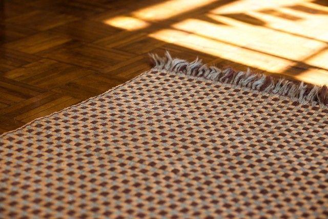 Lindíssimo tapete de algodão grande 148cm x 215cm - Foto 3