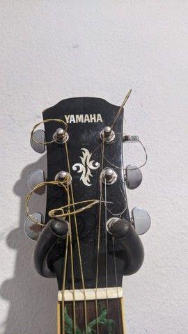 Violão APX 500 III - Yamaha + Acessórios - Excelente - Foto 6