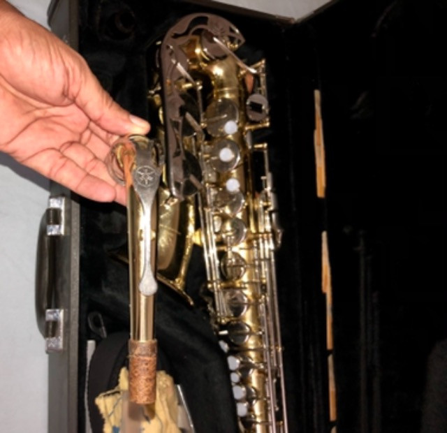 Sax alto Yamaha 23 super conservado - Foto 5