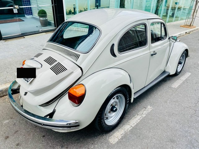VW VOLKSWAGEN FUSCA COM MOTOR 1.8 AP EXTREMAMENTE CONSERVADO 30.000 KM - Foto 3