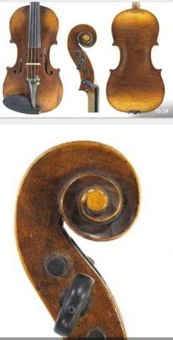 Violino antigo de autor Hopf  - Foto 3