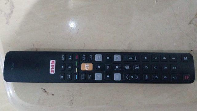 Vendo tv tcl 50 polegadas 4k nova pouco tempo de uso  - Foto 3