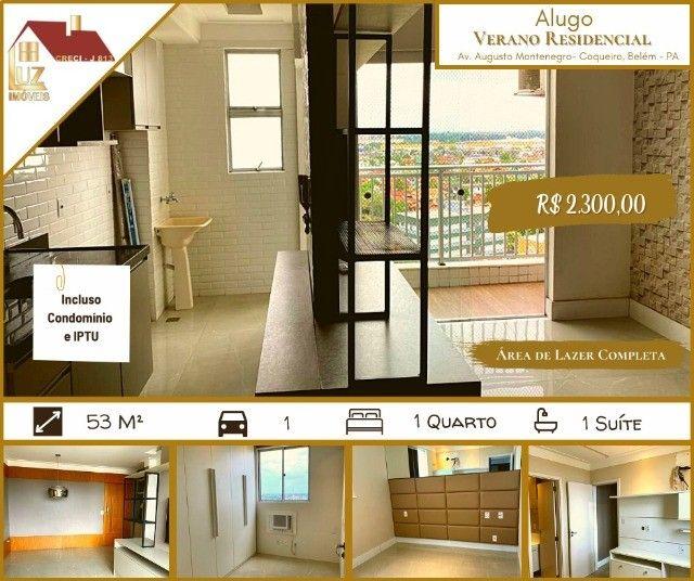 # Alugo Apto Verano Residencial, 53m², 2/4, 1 Vaga, Modulados, 2.300,02 #