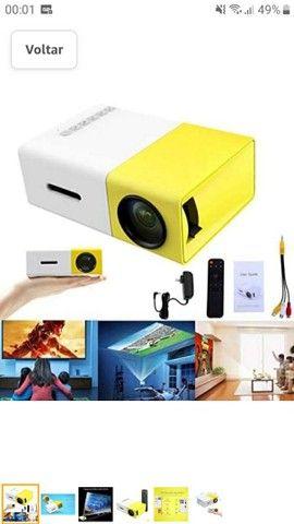 Mini Projetor portátil led Yg300 Hdmi TV USB Cinema de Vídeo<br><br> - Foto 3
