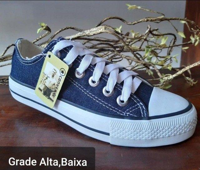 Tênis Converse All Star Moda Casual - Foto 5