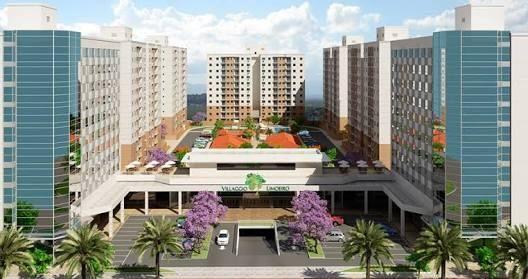 Apartamento 3 quartos c/ suíte-Villaggio Limoeiro