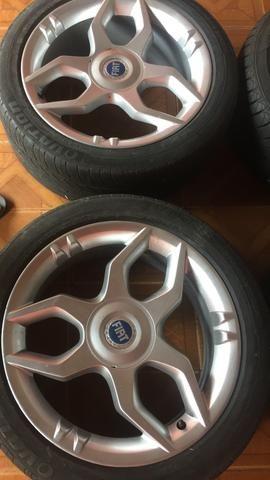 Roda Fiat stilo Schumacher 17