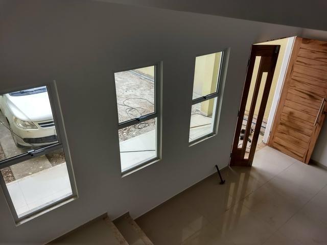Casas duplex no Eusébio, 3 quartos 4 vagas fino acabamento - Foto 19