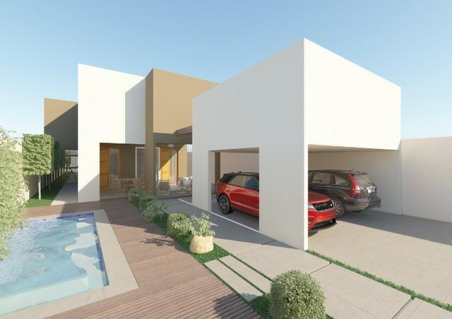 Mansão com 250m2 área constuida, modelo exclusivo, terreno 600m2, 3 Suites, Parnaíba
